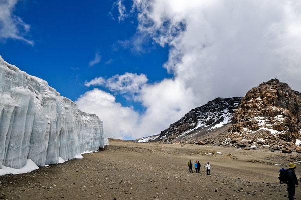 Shira plateau for Kilimanjaro